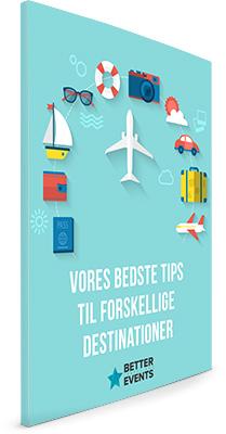 Vores bedste tips til forskellige destinationer